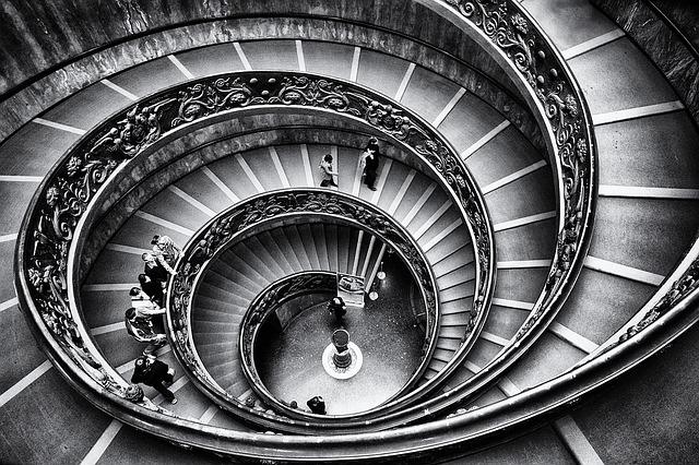 římské schodiště