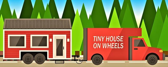 Převoz domku