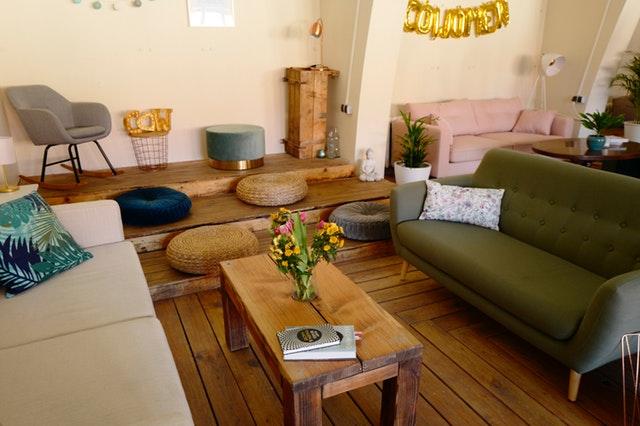 Moderní interiér obývacího pokoje