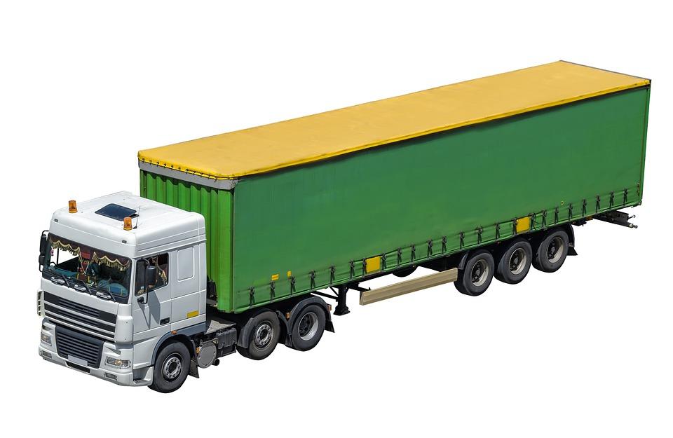náklaďák stěhováků
