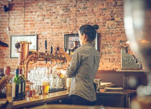 restaurace čepování piva